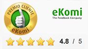 Premiato con il certificato d'oro di approvazione eKomi!