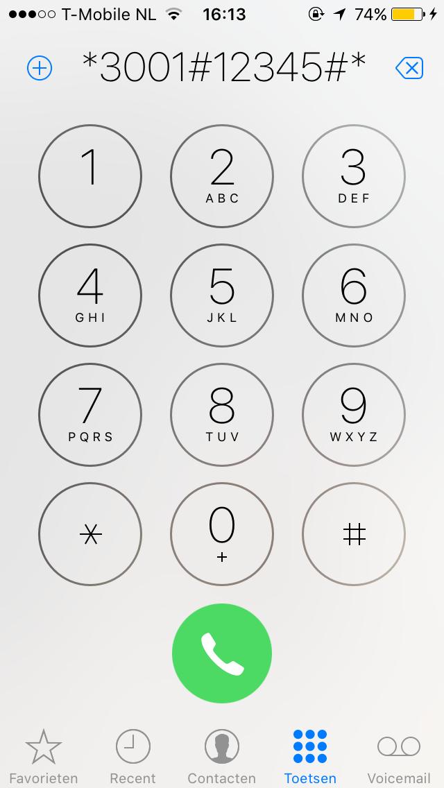 iPhone / Telefoon